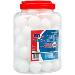 60 BALLES TENNIS DE TABLE