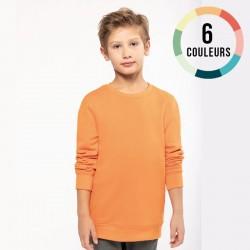 SWEAT-SHIRT COL ROND ECO ENFANT