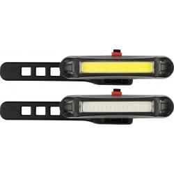 LAMPES LED DE VELO - RECHARGEABLE