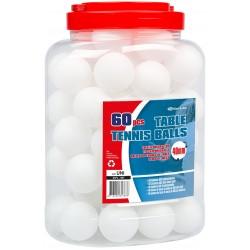 60 BALLES TENNIS DE TABLE ABS