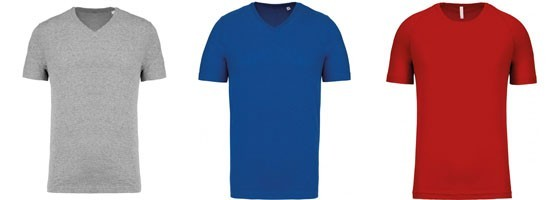T-shirts Homme Unis